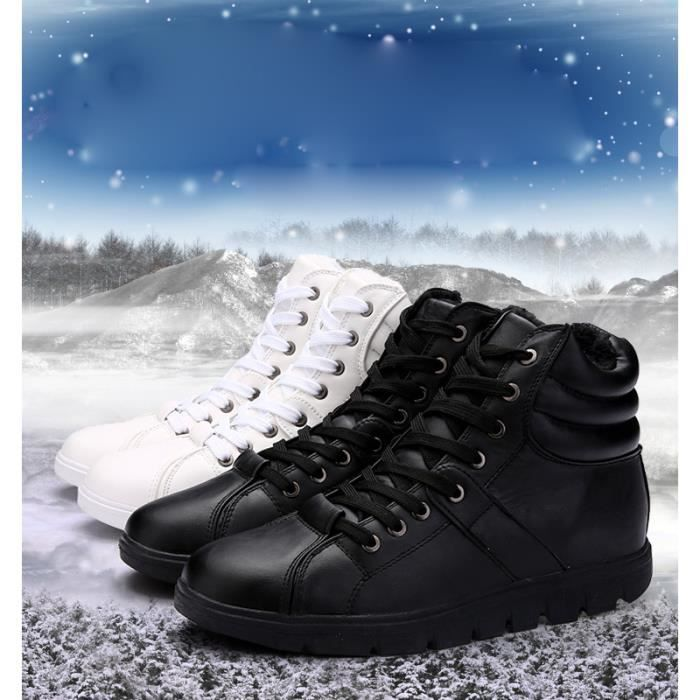 Rivets air froid hiver chaussures pour hommes, ...