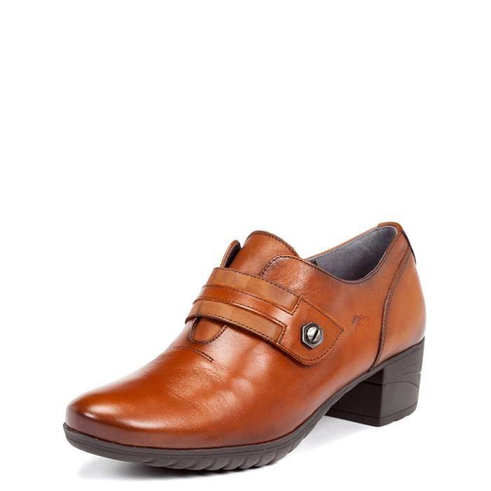 Fluchos - escarpins en cuir Charis talons en cuir -Hauteur: 4cm