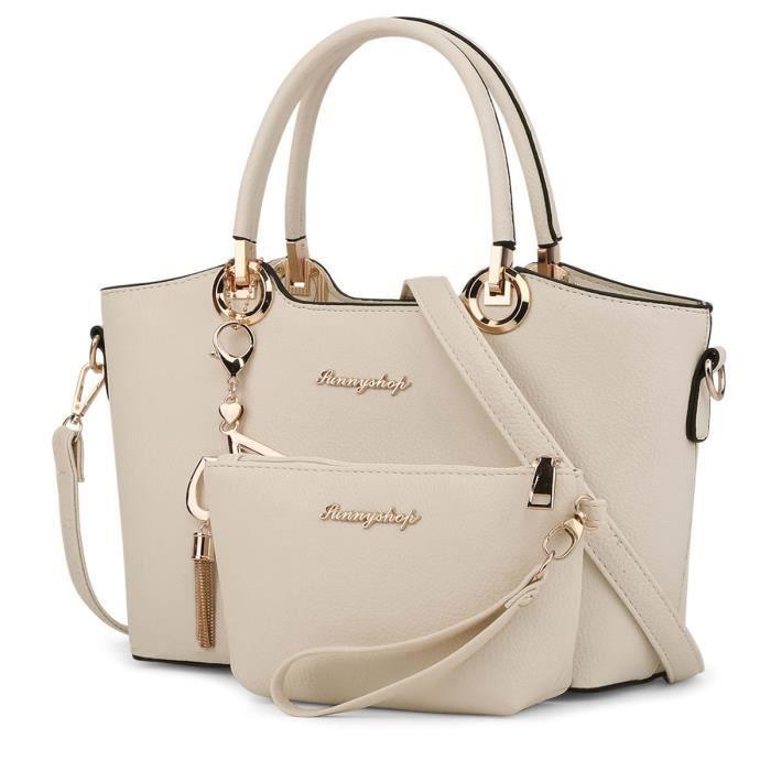 sac à main 2 Sacs - 2017 Mode mis Femmes sac en cuir femmes Sacs Crossbody de haute qualité de marque célèbre Designer Ladies-2670