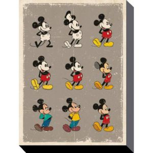 Toile tableau mickey achat vente toile tableau mickey for Poster sur toile