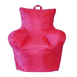 POUF - POIRE ALEX KIDS Pouf fauteuil enfant 50x55x50 cm fuchsia