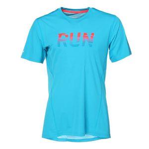 PUMA T-shirt Run Manches courtes - Homme - Bleu