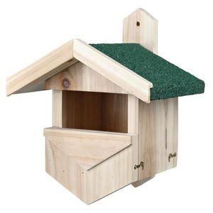 Nichoir pour les oiseaux nichant dans les cavités 25 × 31 × 21 cm