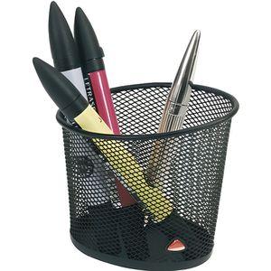 POT À CRAYON ALBA -  MESHCUP N Pot à Crayons en Métal Mesh Noir