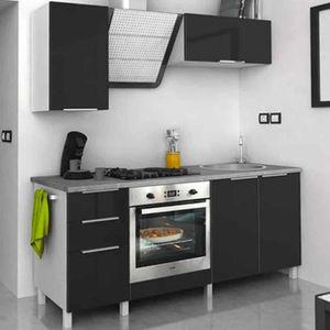 CUISINE COMPLÈTE Cuisine Type 2 - 180cm - Aubergine - Cuisine compl