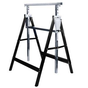 treteaux reglable hauteur achat vente treteaux reglable hauteur pas cher soldes d s le 10. Black Bedroom Furniture Sets. Home Design Ideas