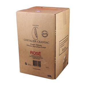 VIN ROUGE Bag-in-Box 10L Chevalier Cransac Rosé VDP Comté To