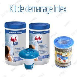 PIÈCE HAMMAM - SAUNA Kit de demarrage pour spa gonflable INTEX