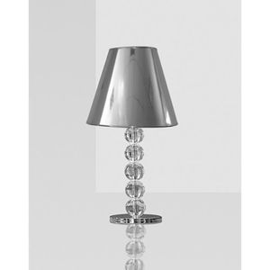 LAMPE A POSER Lampe ADELE grise - L 30.5 x H 60