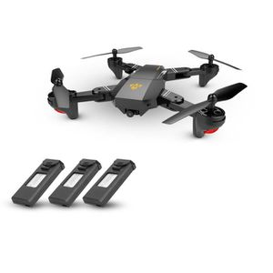 DRONE VISUO XS809HW Wifi FPV RC Drone 2.0MP 120° FOV Gra