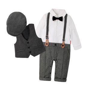 f6870849f1b6a Ensemble de vêtements GEMVIE Vêtements Bébé Garçon Costume Combinaison G