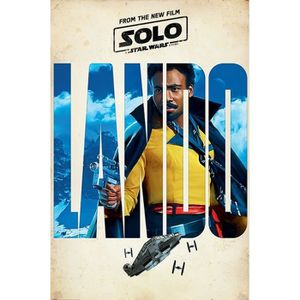 AFFICHE - POSTER Affiche Maxi Solo: A Star Wars Story Lando Teaser