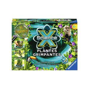 EXPÉRIENCE SCIENTIFIQUE Jeu scientifique : Mini Science X : Plantes grimpa