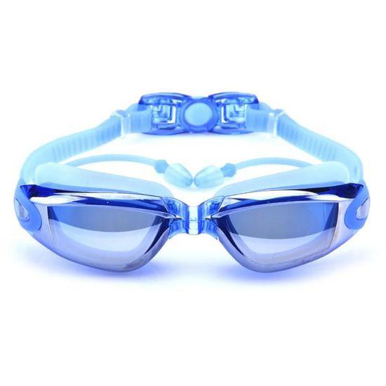 bca88dfd5fa63f LUNETTES DE NATATION Nouvelle lunette de myopie avec bouchon d oreille