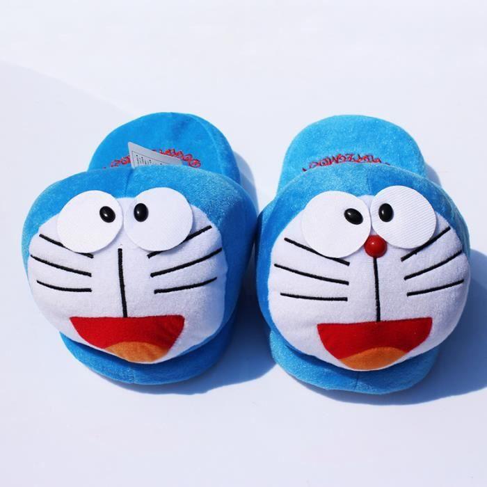 Unisexe Emoji mignon Chaussons chaud et douillet doux en peluche ménage Chaussures Indoor -YJL61123763C iTK6Ania