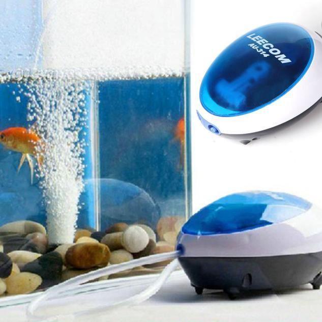 Pompe À Air Silencieuse Efficace D'oxygène D'aquarium 3w #accessoires 348