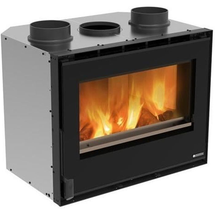INSERT - FOYER Insert cheminée à bois La NORDICA 11,5KW Inserto 7