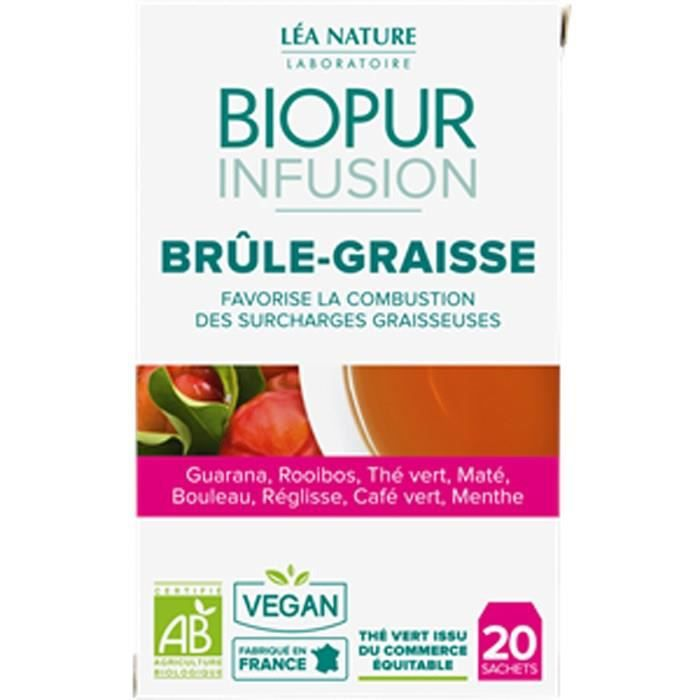 COMPLÉMENT MINCEUR BIOPUR Infusion - Brûleur de graisse - 30 g