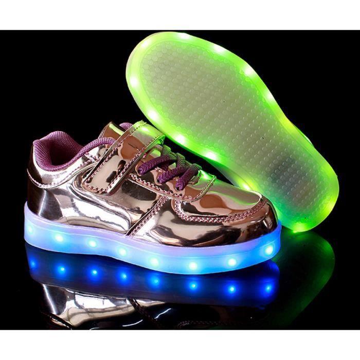 Garçon fille Couleur USB Charge LED Lumière Lum... u5rOIPk6