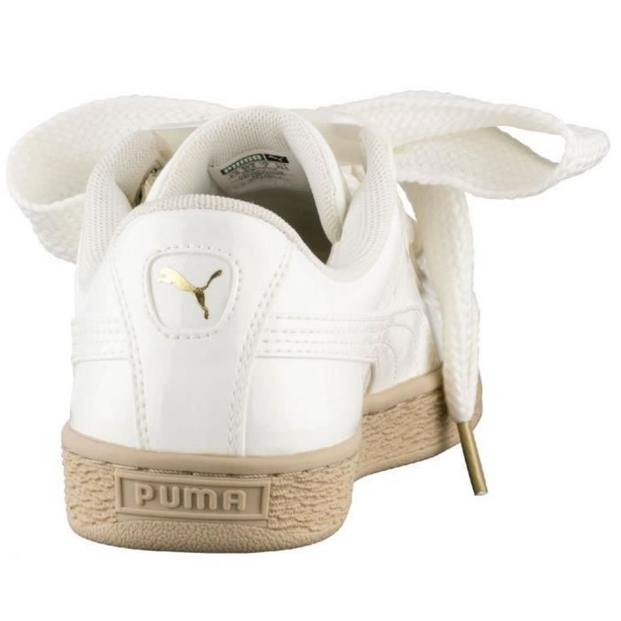 CHAUSSURES PUMA HEART PATENT MARSHMALLOW