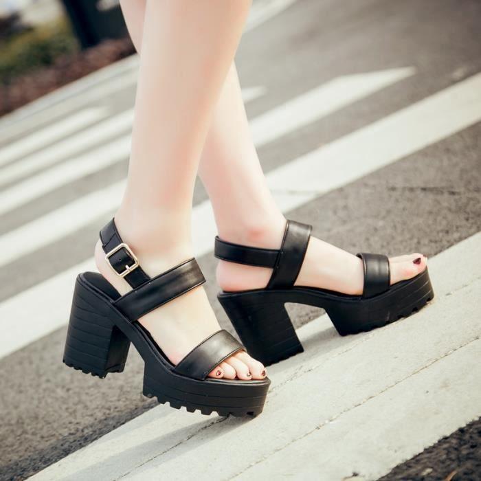 Sandale Les Chaussures pour Femmes ms. bout ouv...