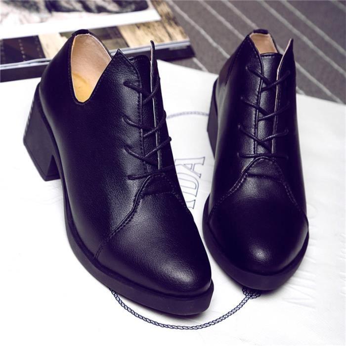 Chaussures femme Bottillons femme Chaussres à talon Chaussures originalesChaussures en cuir Chaussures en solde