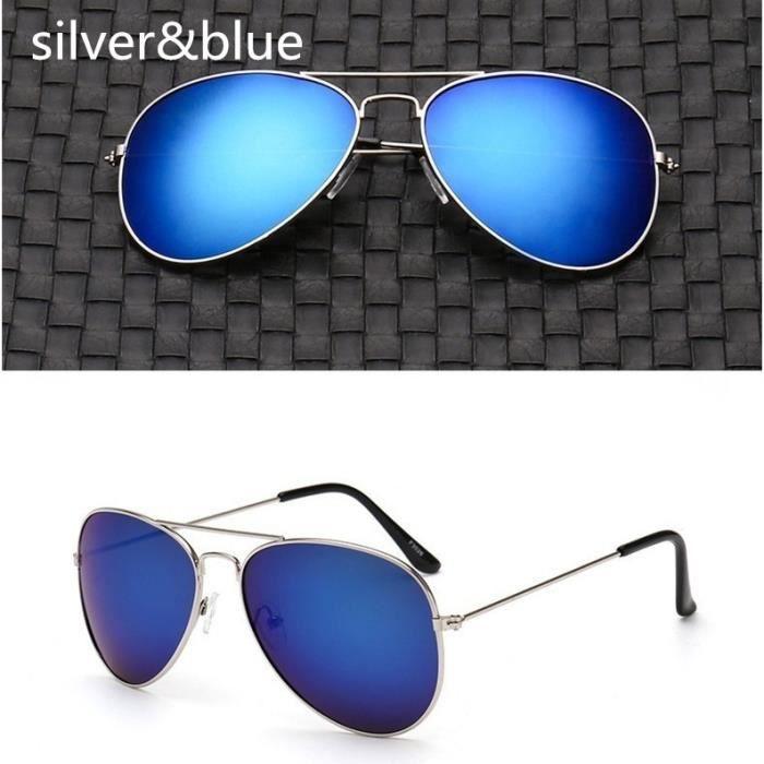 f2439 Óculos Escuro Redondo Colorido Aviado métal Espelhado Proteção Ultravioleta Acessórios Unissex Feminino Óculos de Sol