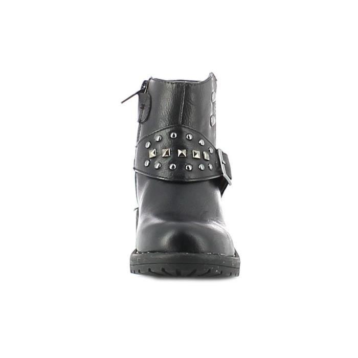 Lumberjack - Lumberjack Sweet Chaussures pour Garçon Noir Cuir