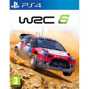 JEU PS4 WRC 6 Jeu PS4