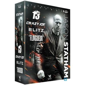 DVD FILM DVD Pack Jason Statham : Crazy Joe + 13 + Blitz +