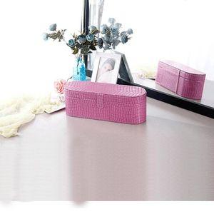 PORTE SECHE-CHEVEUX Rose-Chic Sac de rangement de boîte de sèche-cheve