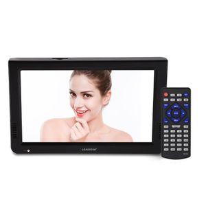 Téléviseur LED 10 pouces TV Portable Téléviseur TNT DVB-T2-DVB-T