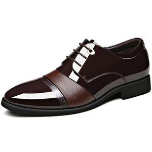 LACET  DADAWEN Chaussure Mocassins Homme-Classic Oxford C