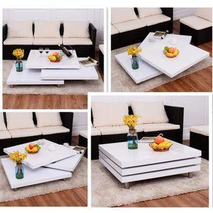 TABLE BASSE Table basse de forme variable Table de salon carré