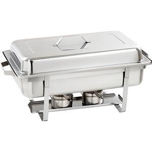 BUFFET CHAUFFANT Chafing dish 1/1 GN, 100 mm profond