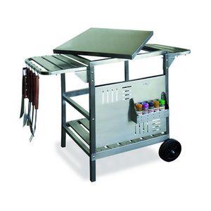 Plancha avec meuble achat vente plancha avec meuble for Chariot cuisine exterieure