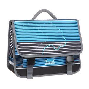 CARTABLE AIRNESS Cartable - 3 Compartiments - 41 cm - Bleu