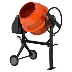 BÉTONNIÈRE in.tec® bétonnière140 litre - 2800 Rotation-Min-55