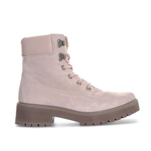 4af564bdb1a BOTTINE Timberland Boots Carnaby Cool 6 Inch Rose Femme