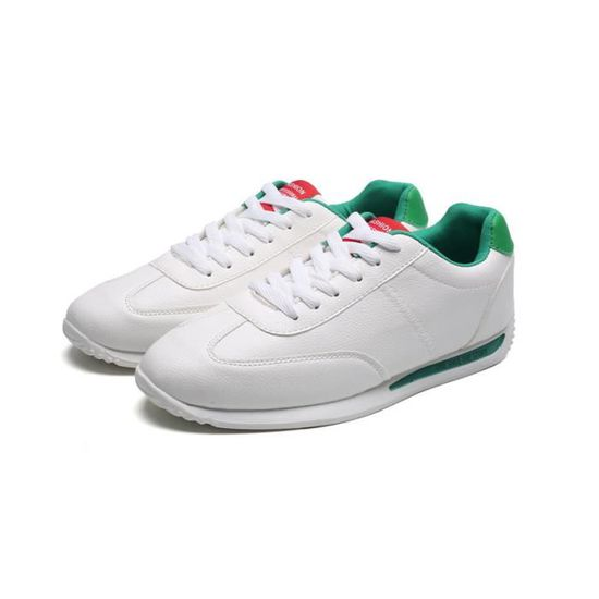 Basket Mode Hommes Forrest Sa Chaussures Chaussures Casual Chaussures de course Vert Vert - Achat / Vente basket