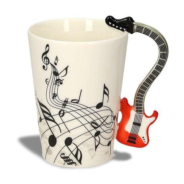 Mug Tasse Poignée Électrique Musique Guitare f6bvY7gy