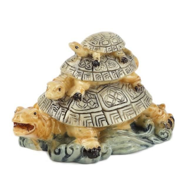 Les Tortues Feng Shui Protection Et Longevite Achat Vente