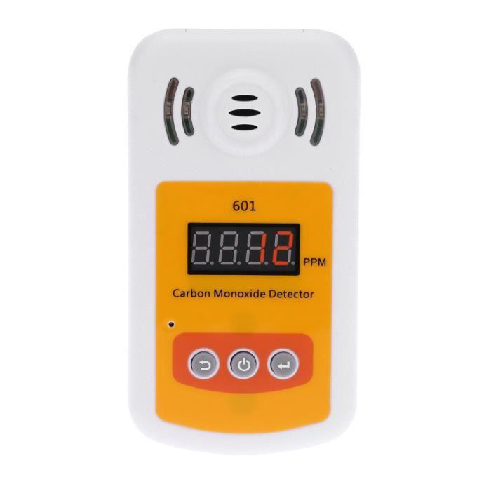 Compteur de gaz portable mini monoxyde de carbone d tecteur co avec alarme sonore et lumineuse - Detecteur monoxyde de carbone chaudiere gaz ...