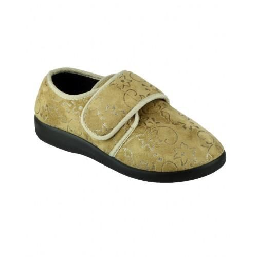 GBS Med Poole - Chaussons - Femme Beige