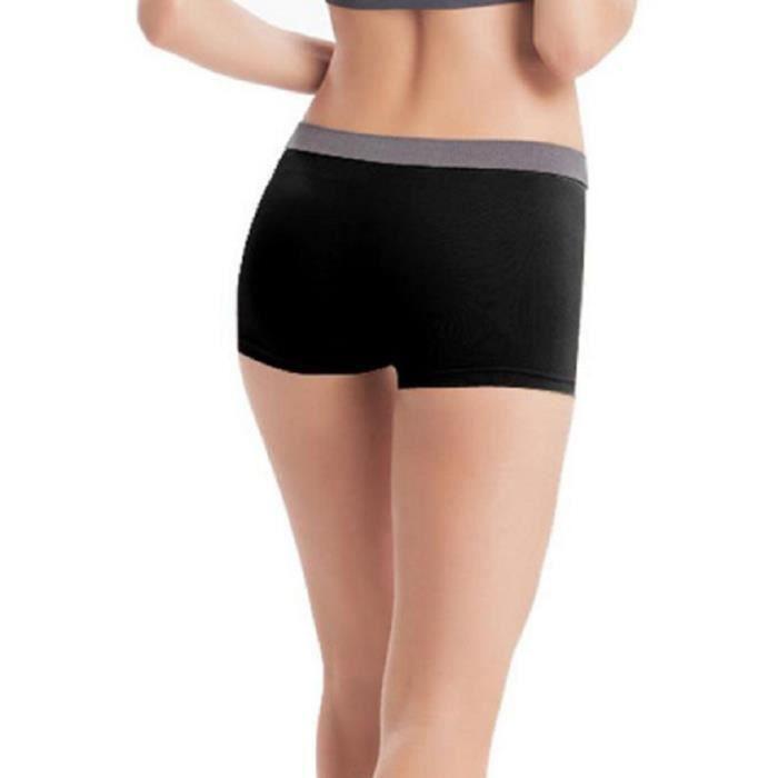 short shorty femme sport fitness noir prix pas cher cdiscount. Black Bedroom Furniture Sets. Home Design Ideas