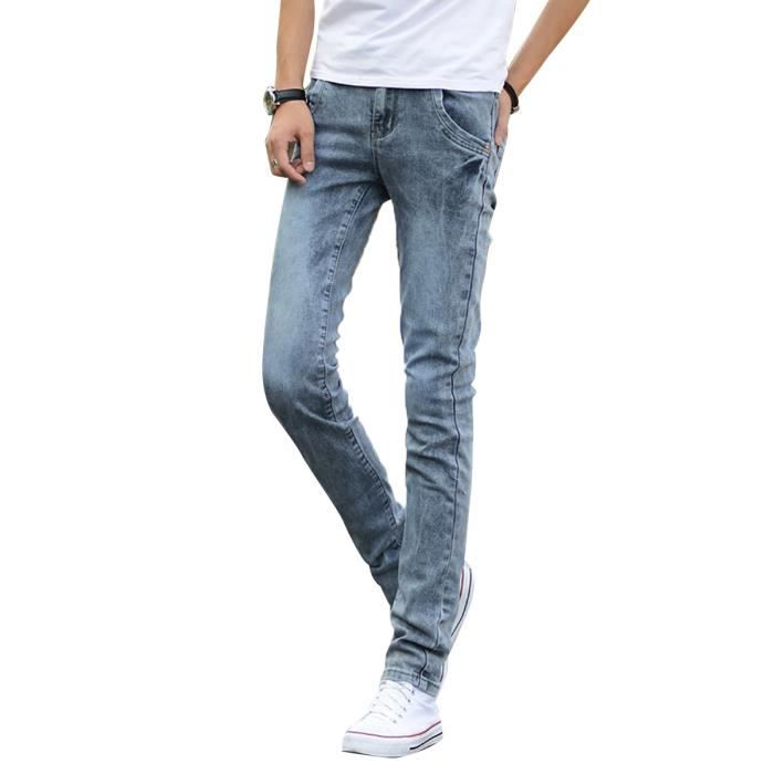 Coupe skinny ou slim homme