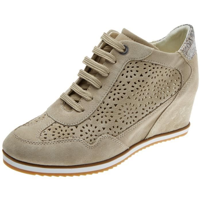 top B Sneakers Geox D 36 Taille Women's Illusion 3cmce5 Low Pkn0Ow8
