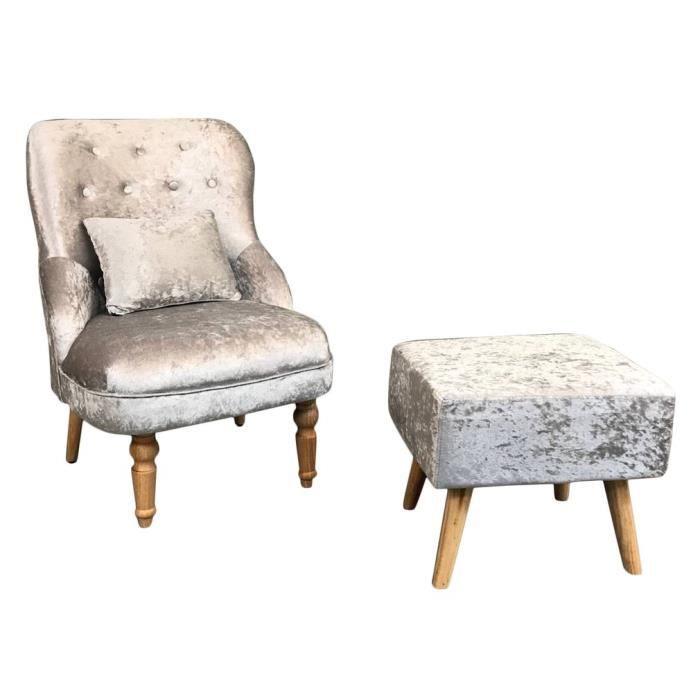 Tabouret Sofa Chambre Classique Salon Ergonomique Dossier Chaise