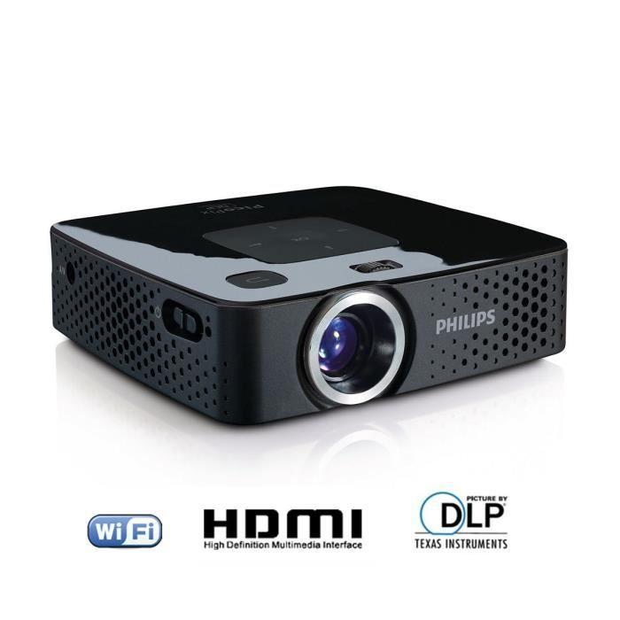 philips ppx3407 pico projecteur hdmi vid oprojecteur avis et prix pas cher cdiscount. Black Bedroom Furniture Sets. Home Design Ideas