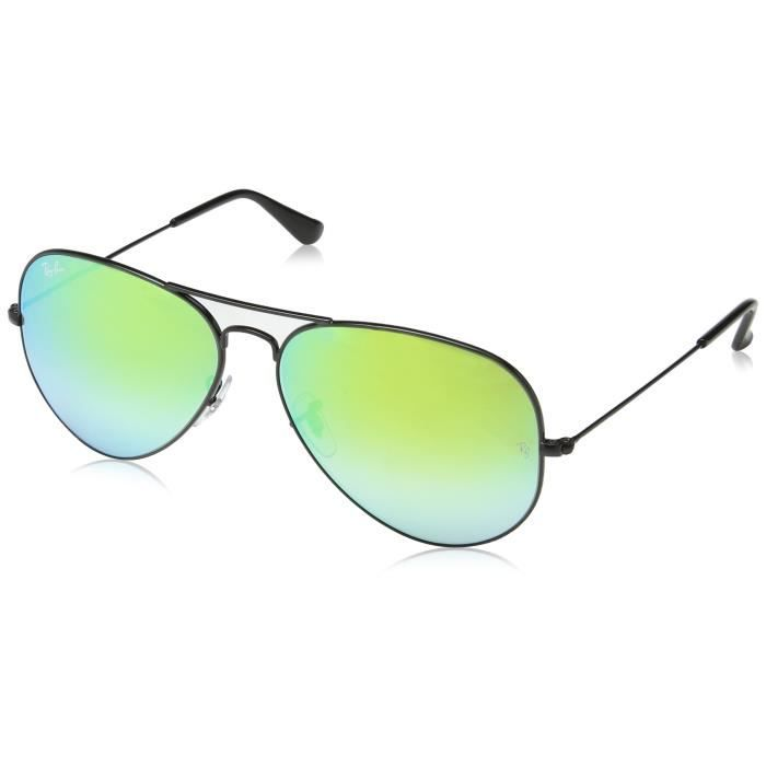 Ray Lunettes Metal 3025 Large Ban Miroir Polarisée Y6ab1 Aviator Non tsQdChr